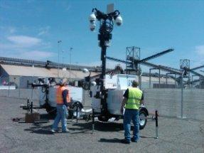 Check out our World Telecom & Surveillance Technicians at work