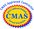 CMAS Approved Contractor Logo