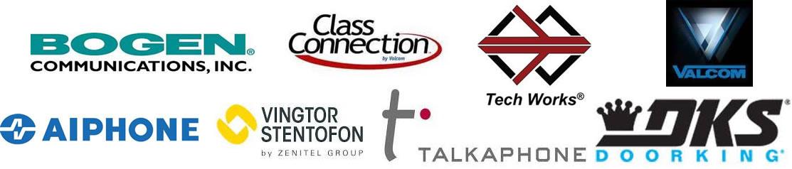 Paging, Intercom, and Nurse Call brands